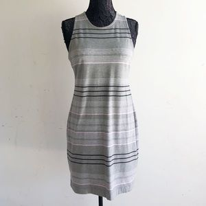 LOU & GREY STRIPED DRESS M